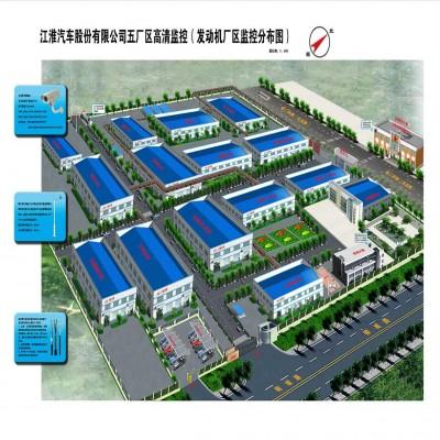 安徽江淮本部五厂区监控系统工程