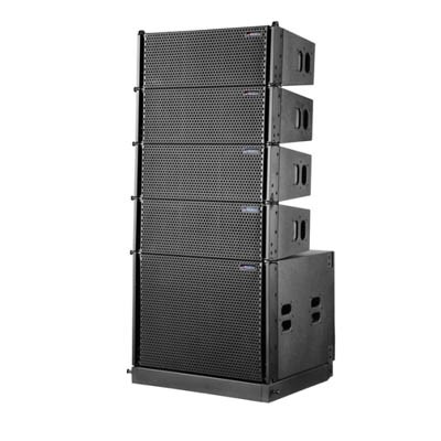 双6寸有源线性阵列音箱。钕磁ST-06A
