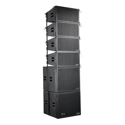 双10寸有源线性阵列音箱TW-20A